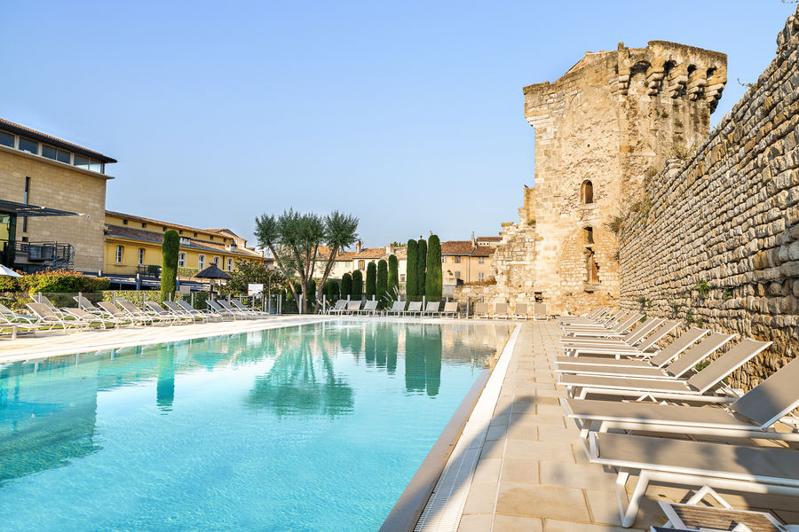 Aquabella hotel spa piscine