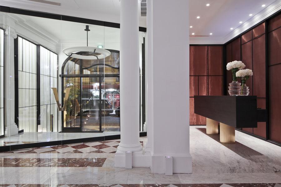 Hôtel Vernet ***** Réception