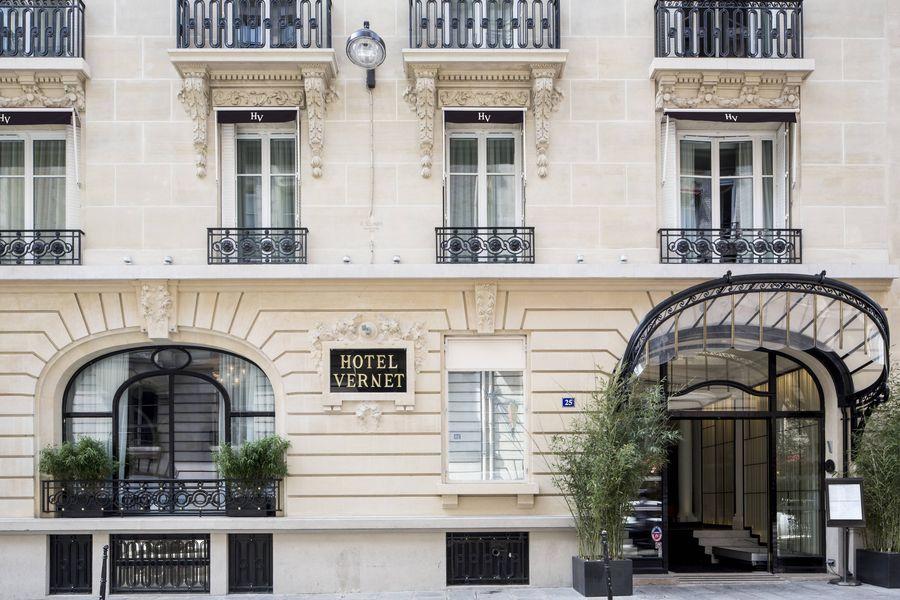 Hôtel Vernet ***** Devanture