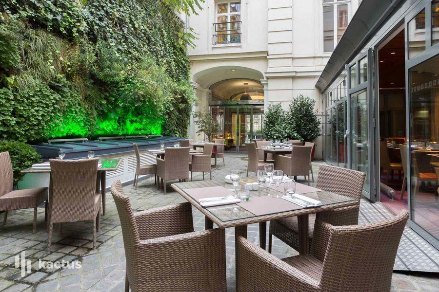 Hotel intercontinental avenue marceau terrasse