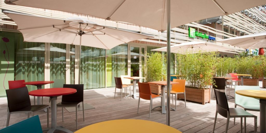 Holiday Inn Express Paris-Canal De La Villette *** Terrasse