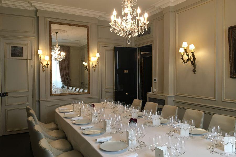 Hôtel Lancaster - Paris Champs-Elysées ***** Salon privé Fontenoy