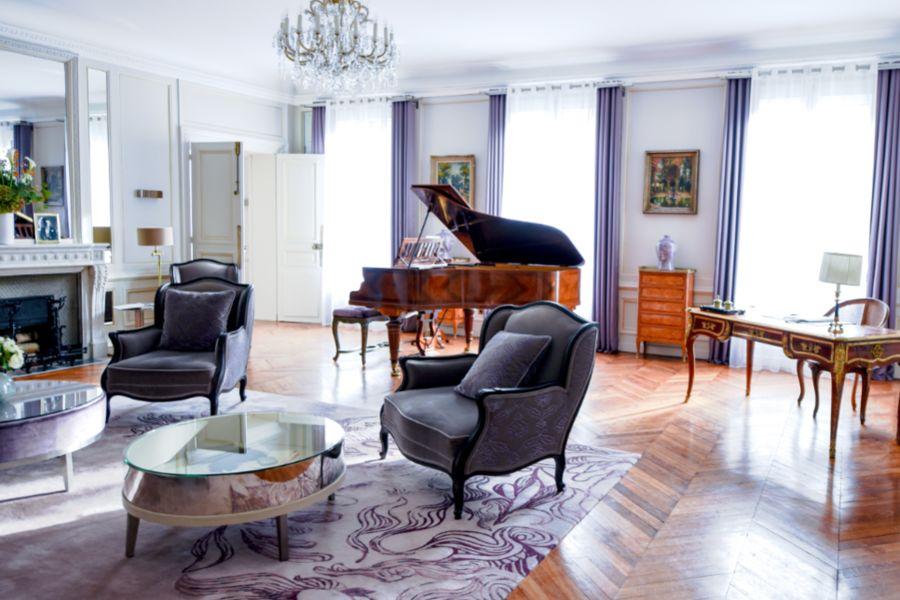 Hôtel Lancaster - Paris Champs-Elysées ***** Suite Signature Marlene Dietrich
