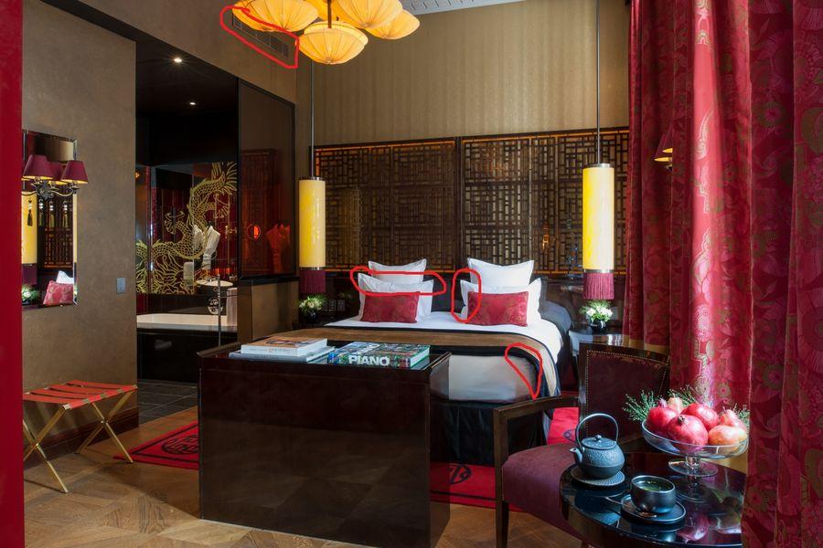 Buddha-Bar Hôtel Paris ***** Suite Historique - chambre