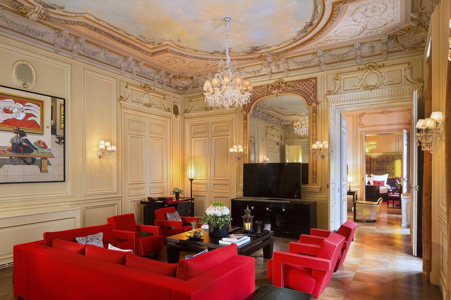 Buddha-Bar Hôtel Paris ***** Grande Suite Historique - Salon