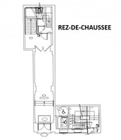 Plan salle mariage pavillon wagram rdc