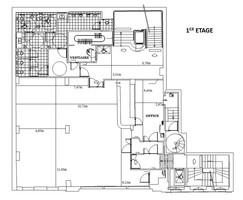 Plan salle mariage pavillon wagram 1er etage