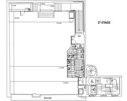 Plan salle mariage pavillon wagram 2e etage