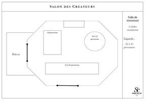 Plan salle mariage domaine saint clair   salon des cr%c3%a9ateurs
