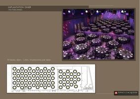 Espace clacquesin   tables rondes