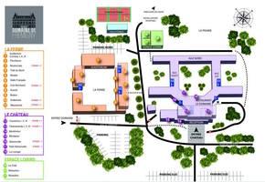 Domaine de fremigny   plan du domaine 2