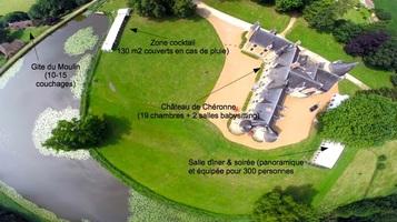 Chateau de ch%c3%a9ronne   plan