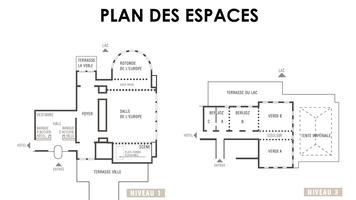 Imperial palace annecy   plan des espaces