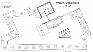 Plan terrasse panoramique