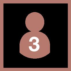 3 personnes