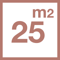 25 m2