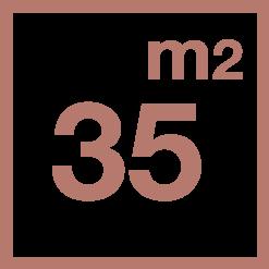 35 m2