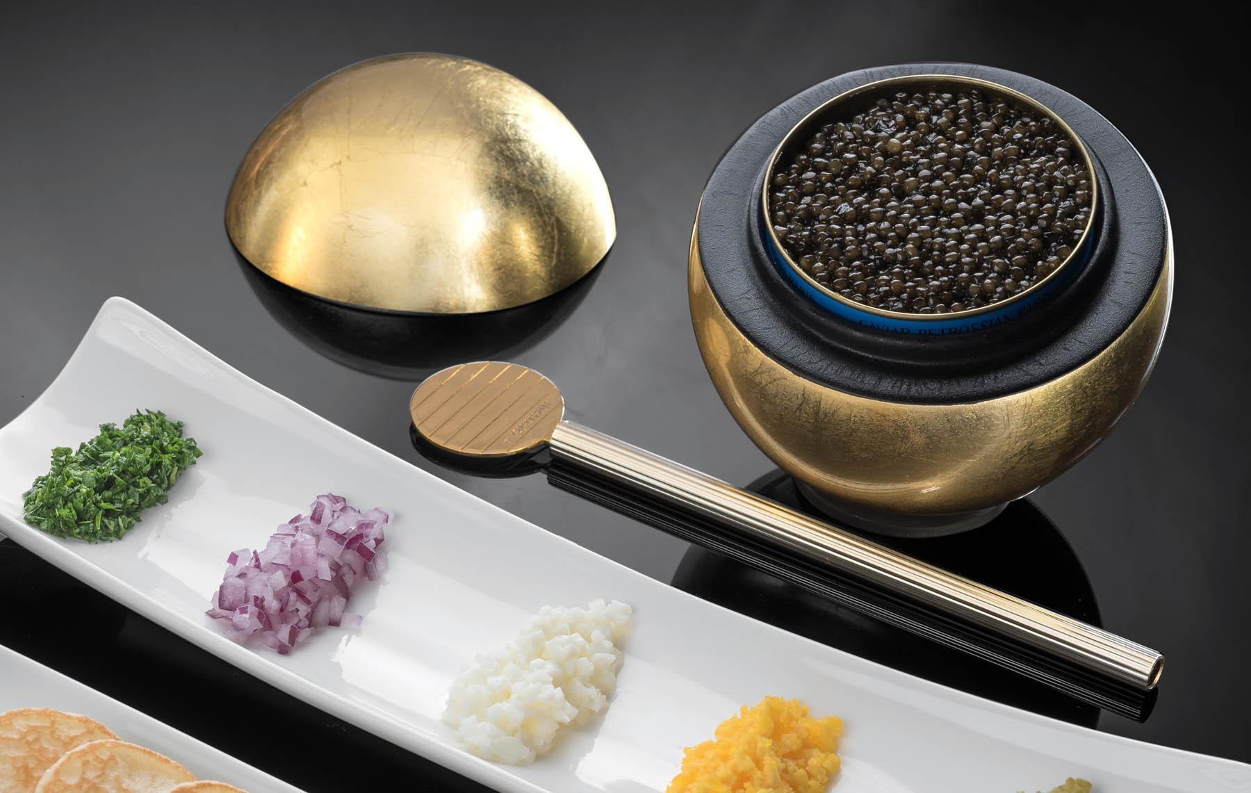Image newsfeed The Hôtel Royal's caviar selection