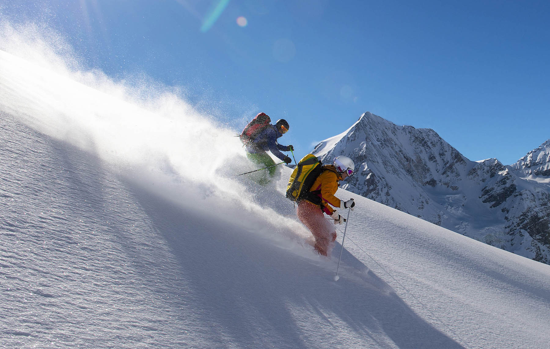 Image newsfeed Skiing in France, Switzerland and Italy