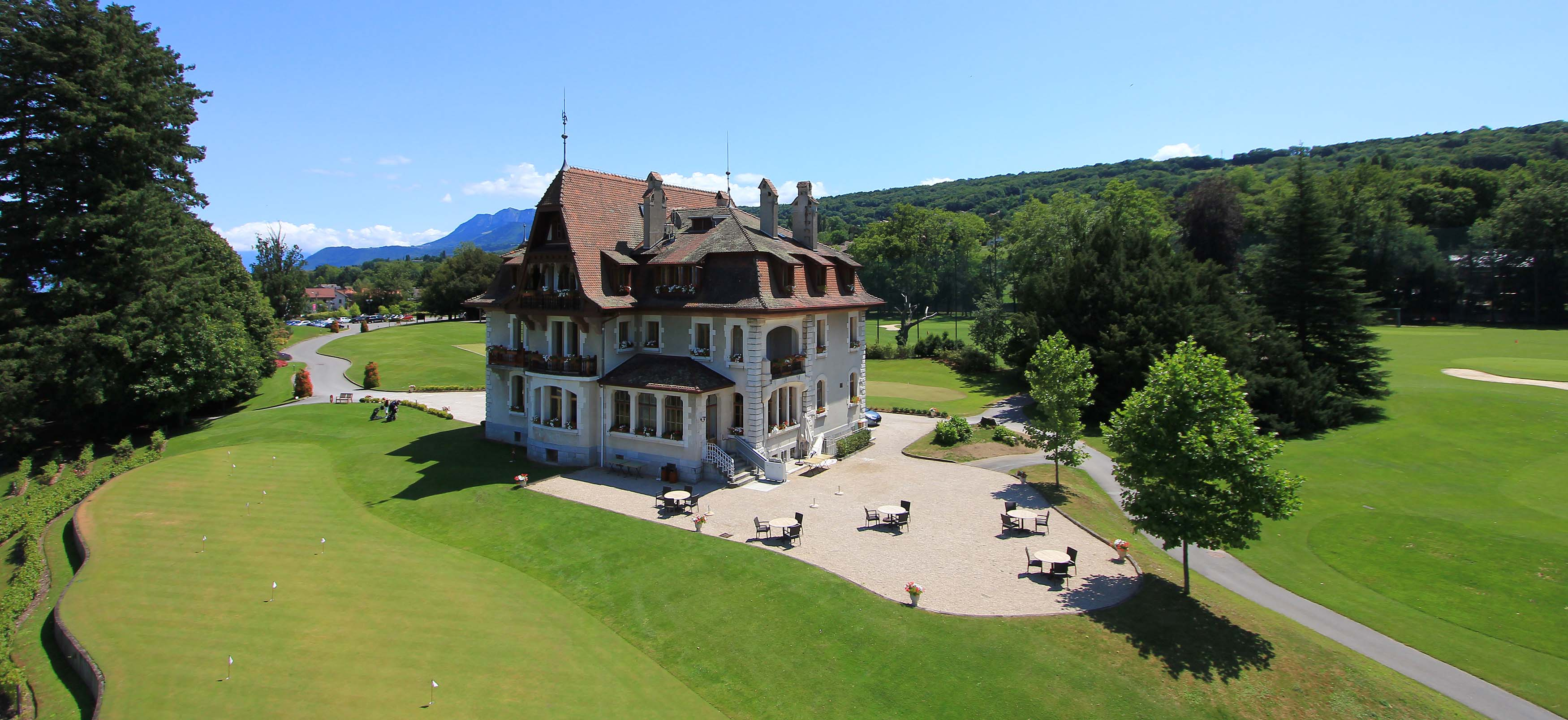 The Manoir Du Golf   Stay  Weekend Golf Evian  France  Europe