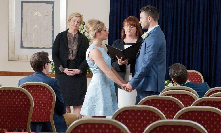 Emmerdale robert sugden wedding
