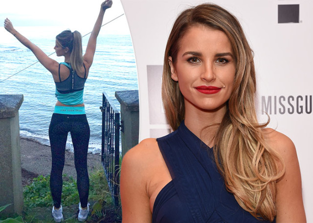 Vogue Williams Top Fitness Tips For 2016