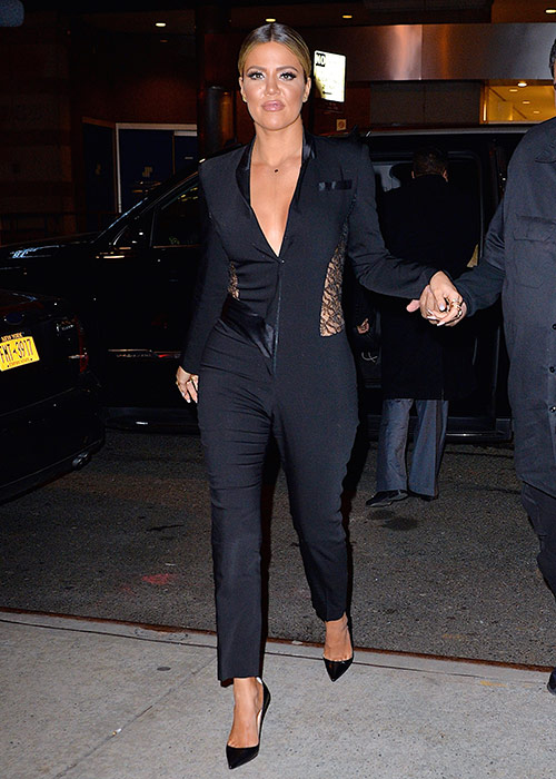 After seeing this look, Khloe cemented her way into the fashionista ...
