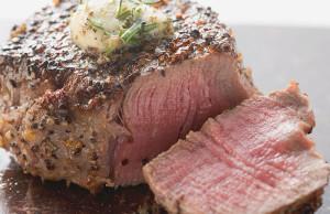 Roasted Beef Tenderloin with Herb Garlic & Creamy Horseradish