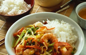 Chinese Prawn Fried Rice