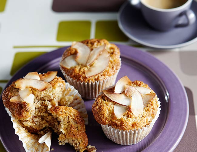 Fruit and Nut Protein Muffins