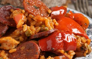 Chorizo with Peppers and Herbs