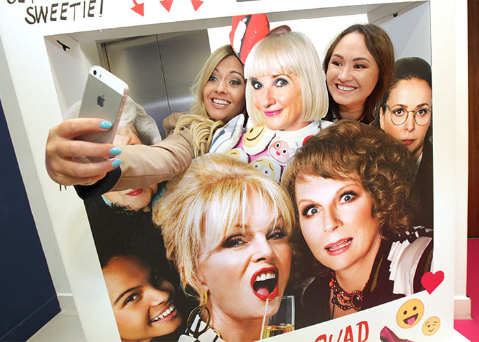 Absolutely fabulous the movie screening with great lengths for Absolutely fabulous beauty salon