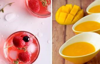 Raspberry Mango Mimosa