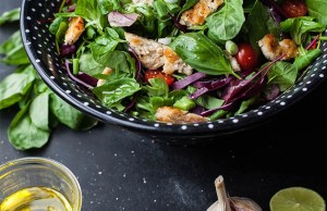 Chicken Basil Salad