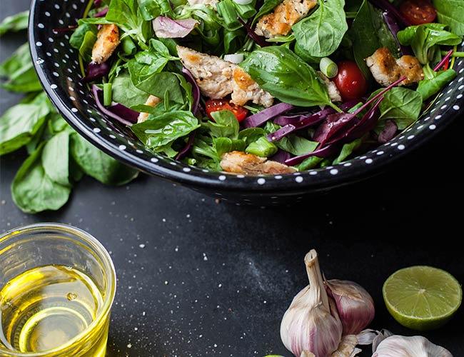 Chicken Basil Salad