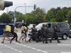 Special police forces. Pic: EPA/MATTHIAS BALK