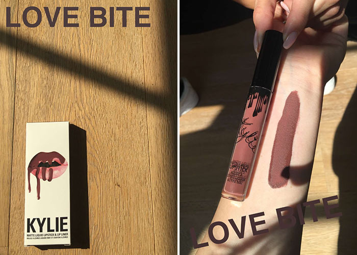 Kylie jenner has leaked her three new matte lip kits on snapchat