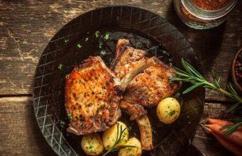 PERFECT Pan Seared Pork Chops