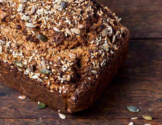 Homemade Seeded Bread