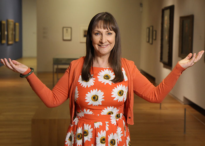 Father Ted S Pauline Mclynn Swaps Acting For Presenting