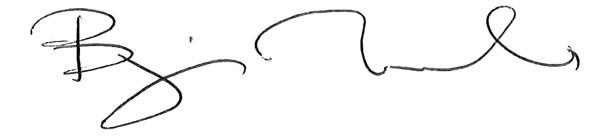 Bjorn Ivroth Signatur