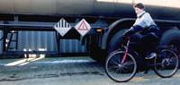 Gevaarlijke vrachtwagen