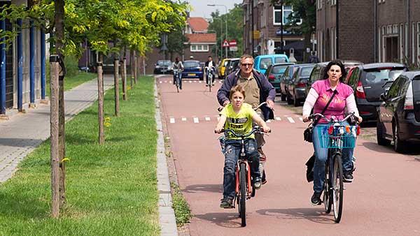 Fietsers in Nijmegen. Foto: Bas de Meijer