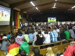 Alte Sporthalle in Wangen