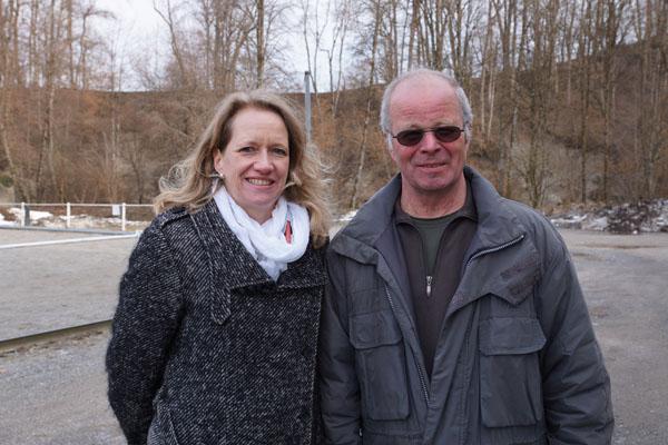 Eveline Welte und Hans-Jürgen Kahlgrün