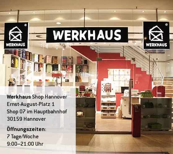 Werkhaus Shop im Bahnhof Hannover