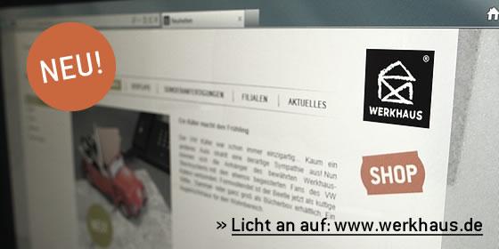 Werkhaus Internetseite