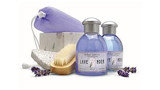 Badeset Lavendel