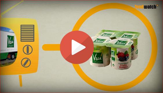 Vidéo foodwatch Vrai (Triballat Noyal)