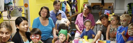Bild Eltern mit Kinder